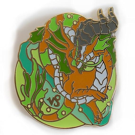 Zodiac Dragons Capricorn Enamel Pin: Amazon ca: Clothing