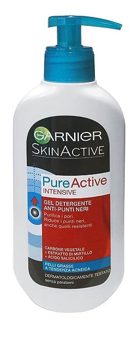 8 opinioni per Skin Naturals Detergenza Garnier PureActive Intense, Gel Anti-Punti Neri- 200 ml