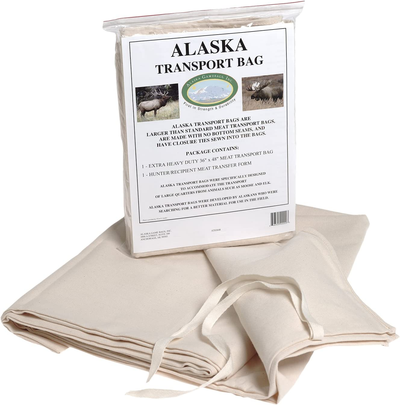 Details about  /Game Meat Bags 4 Pack 20x30in Washable Reusable Deer Elk Out Door Hunting Sport