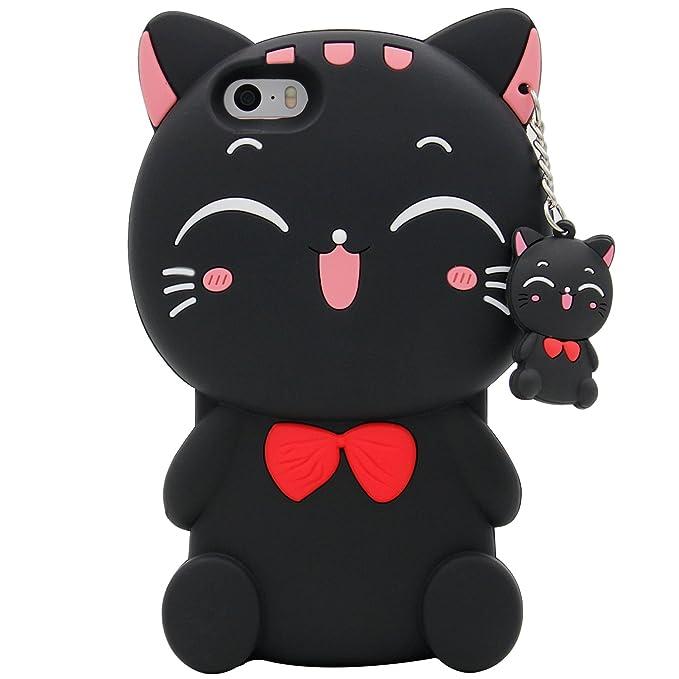 Amazon.com: Funda protectora suave MC Fashion para iPhone SE ...