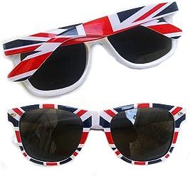 c0deff4d4 Union Jack Sunglasses Royal Party Glasses Costume Accessories British 278 XX
