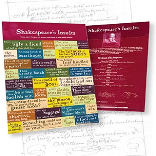 Customworks SHPCMS1 Shakespeare Insults Pull Apart Magnets 7
