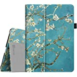 Fintie iPad 9.7 Inch 2017 / iPad Air Folio Case - Slim Fit Vegan Leather Smart Cover with Auto Sleep / Wake Feature for Apple New iPad 9.7 inch 2017 Tablet / iPad Air 2013 Model, Blossom