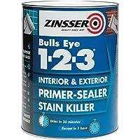 Pintura selladora/de imprimación de Zinsser ZINBE1231L 1L 123
