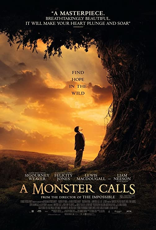 Amazon.com: Kirbis A Monster Calls Movie Poster 18 x 28 Inches ...