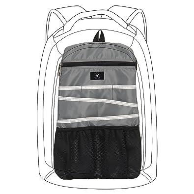 861b4d4daf72 Hynes Eagle Universal Backpack Insert Organizer Travel Bag Slip Gadget  Organization Kit Ashy