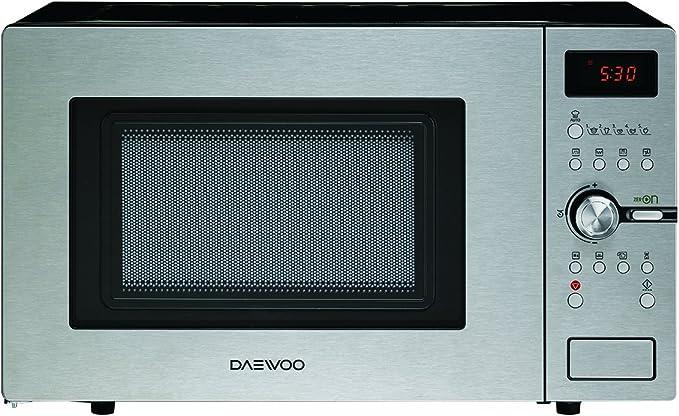 Daewoo KOC-9Q5T - Microondas digital convección y grill, 900 W, 28 ...
