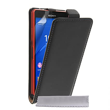 Amazon.com: Caseflex Sony Xperia Z3 Compact Case Black ...