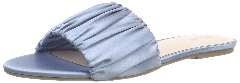 Bianco Sateen Slip Bleu B078SX2SHY in, Mules Femme Bleu in, (Light Blue 32) f627a16 - latesttechnology.space