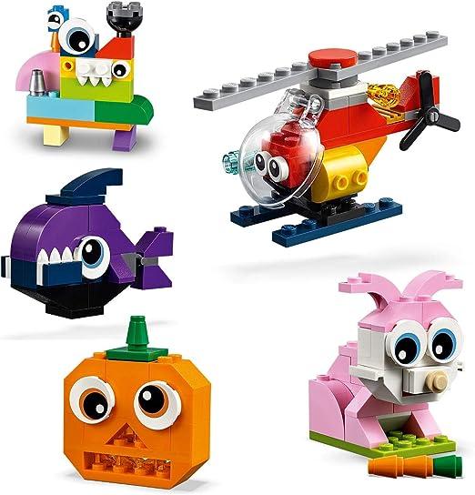 LEGO Classic - Ladrillos y Ojos, juguete didáctico y divertido para construir (11003) , color/modelo surtido: LEGO: Amazon.es: Juguetes y juegos