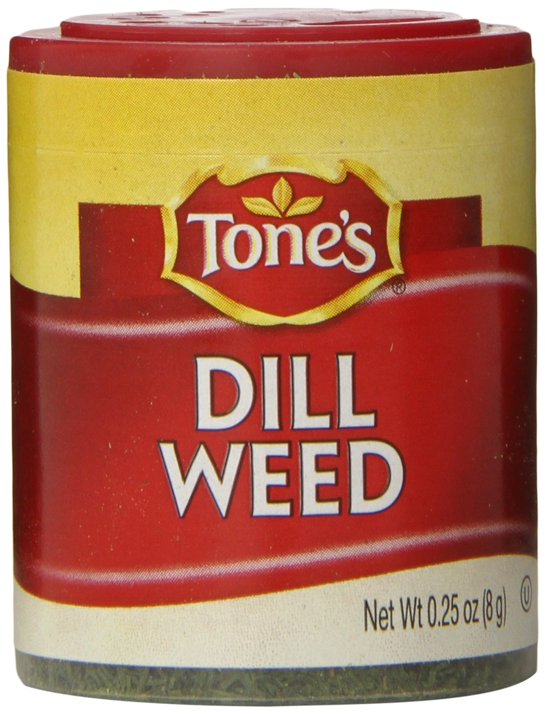 Tone's Mini's Dill Weed, 0.25 Ounce (Pack of 6)