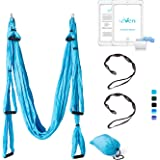 Seveni Yoga Swing/Yoga Hammock/Trapeze/Ceiling Anchors/Daisy Chains (5colors)