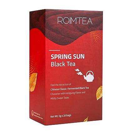 Bolsas de té negro orgánico de hojas sueltas para té helado ...
