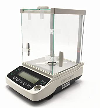 80da2ea02ab9 Hanchen Lab Analytical Balance, 220g/0.1mg Digital Precision ...