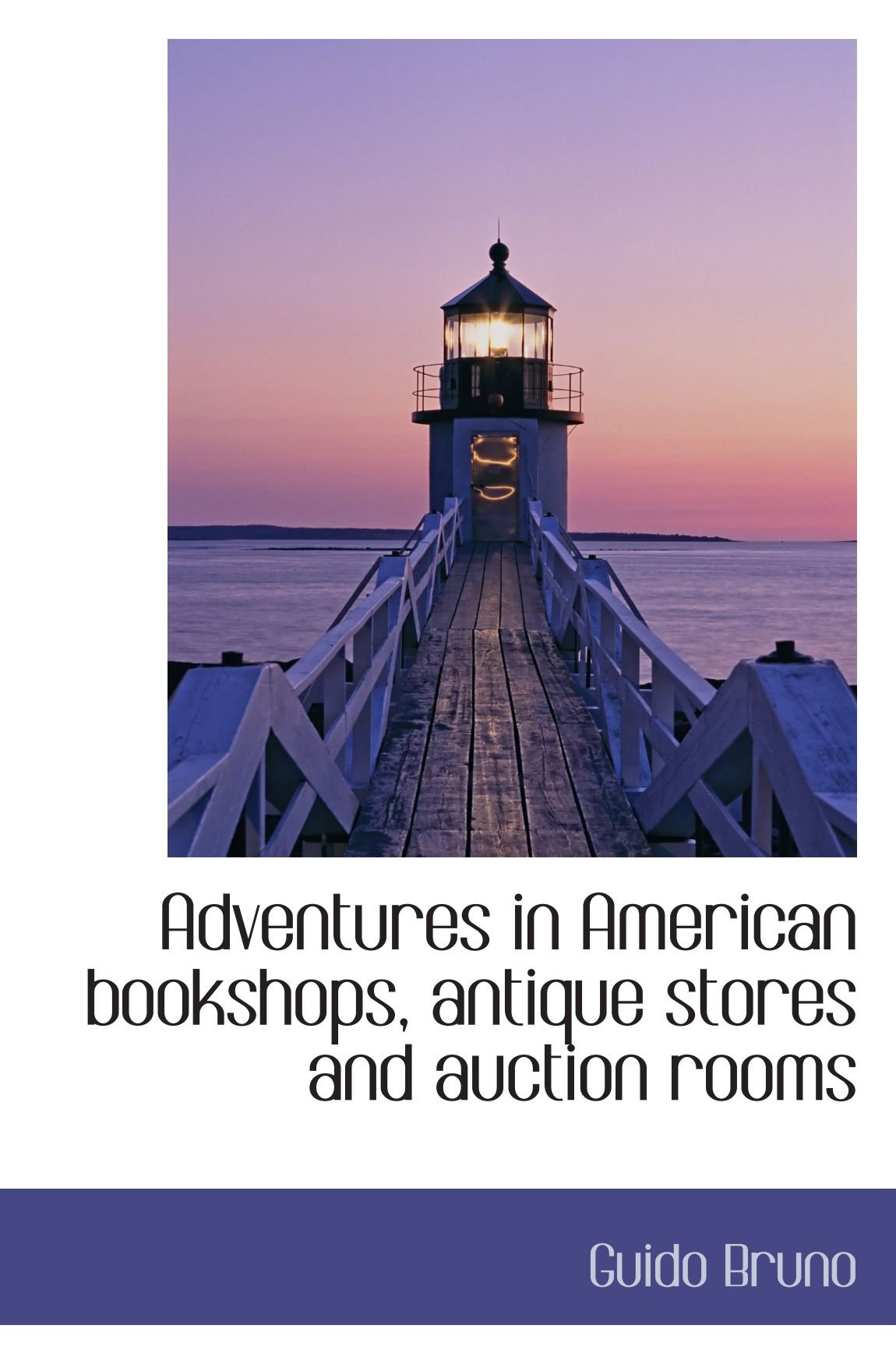 Adventures in American bookshops, antique stores and auction rooms PDF