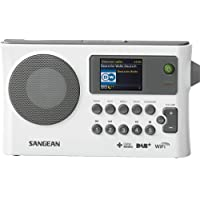 Sangean WFR-28C Internet Digital White radio - Radios (Internet, Digital, DAB+,FM, 87.5 - 108 MHz, 174 - 240 MHz, CT,PS,PTY,RT)