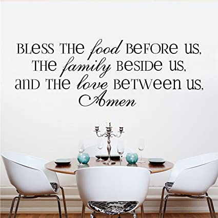 Amazon.com: Kitchen Wall Stickers Home Decor, Dining & Cooking Quote ...
