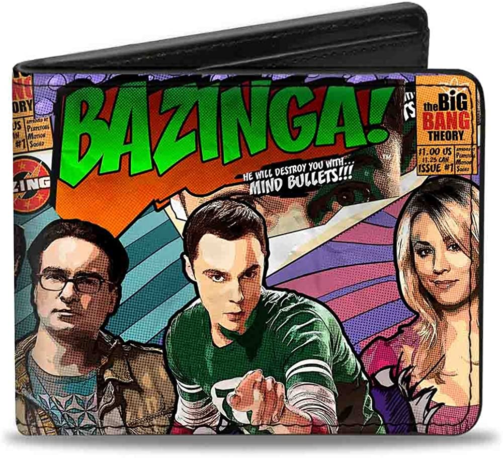 Buckle-Down Bifold Wallet The Big Bang Theory