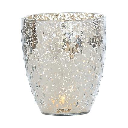 Amazon Luna Bazaar Vintage Mercury Glass Vase Or Candle Holder