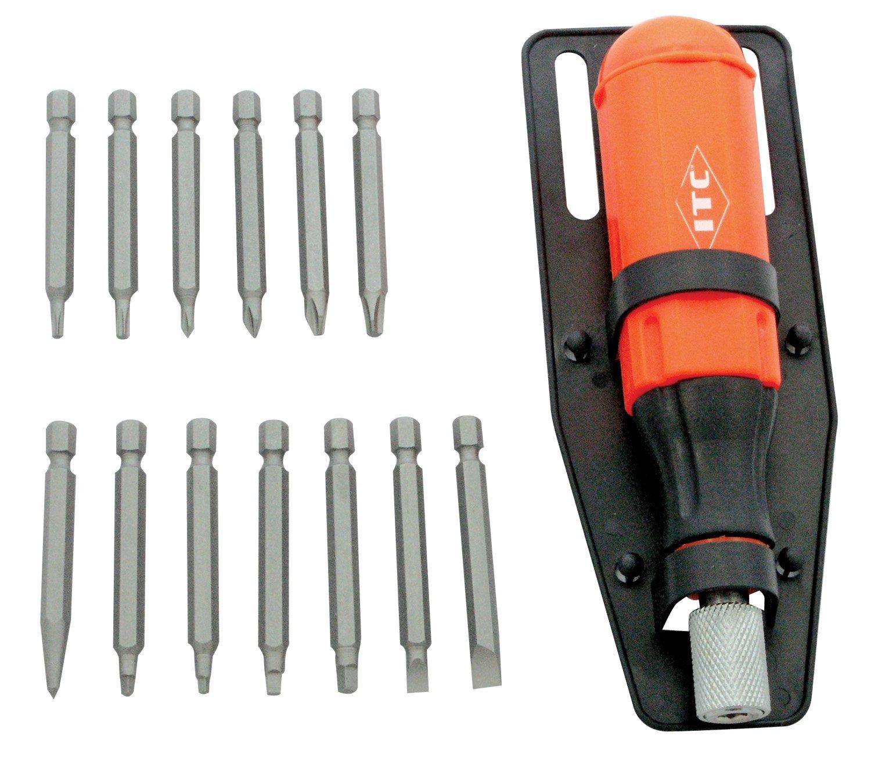 ITC 20921 15-Piece Multibit Screwdriver Set