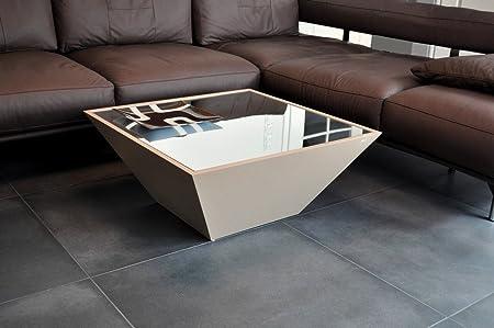 Amazonde Design Couchtisch Carl Svensson Pyramide Mv 3 Cappuccino