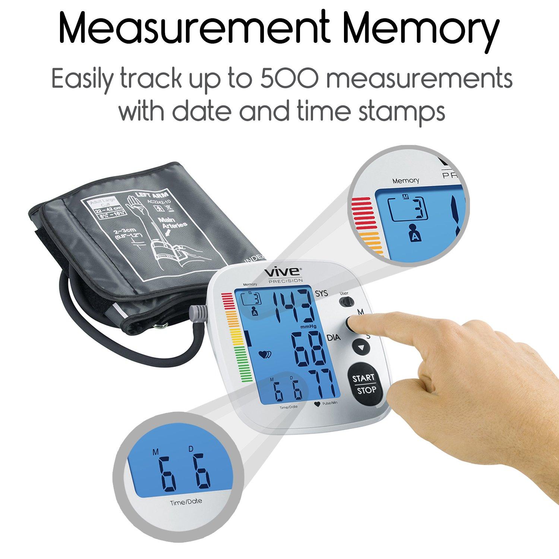 Vive Precision Blood Pressure Machine - Heart Rate Monitor