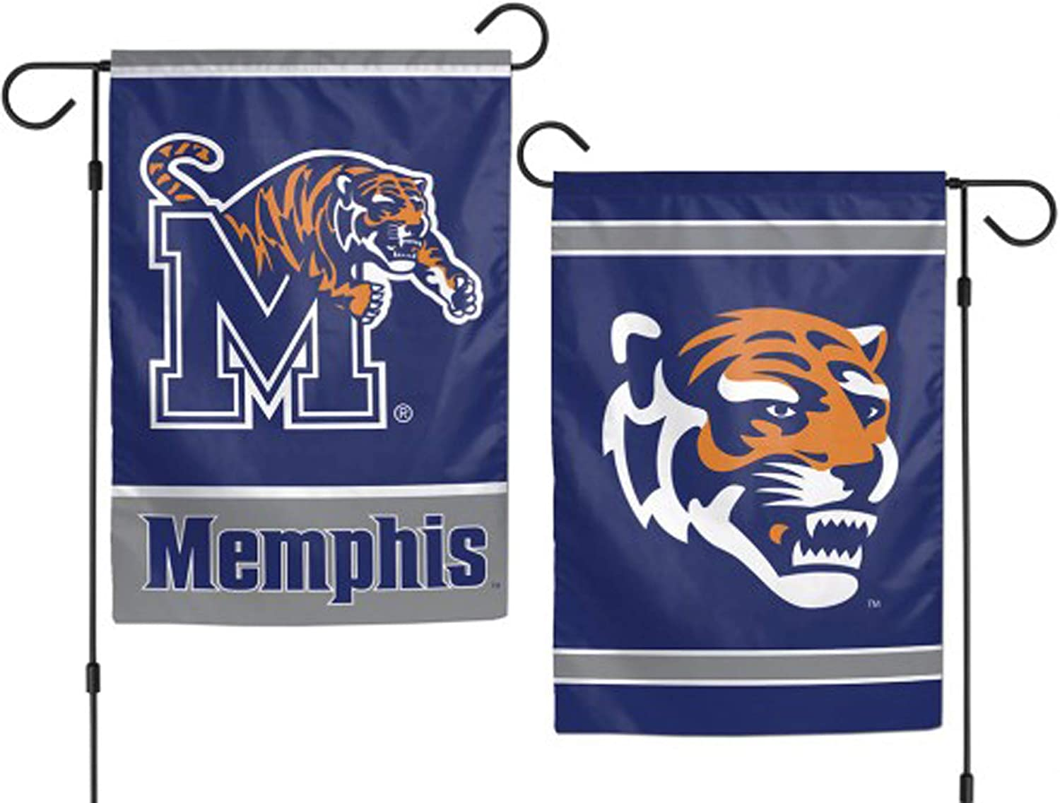 "WinCraft NCAA University Memphis Tigers 12.5"" x 18"" Inch 2-Sided Garden Flag Logo"