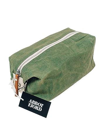 Hide /& Drink Durable Travel Dopp Kit for Toiletries Handmade Waxed Canvas