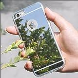 Carcasa resistente a golpes de material gel TPU Funda [IPhone 6 Plus] con diseño de espejo