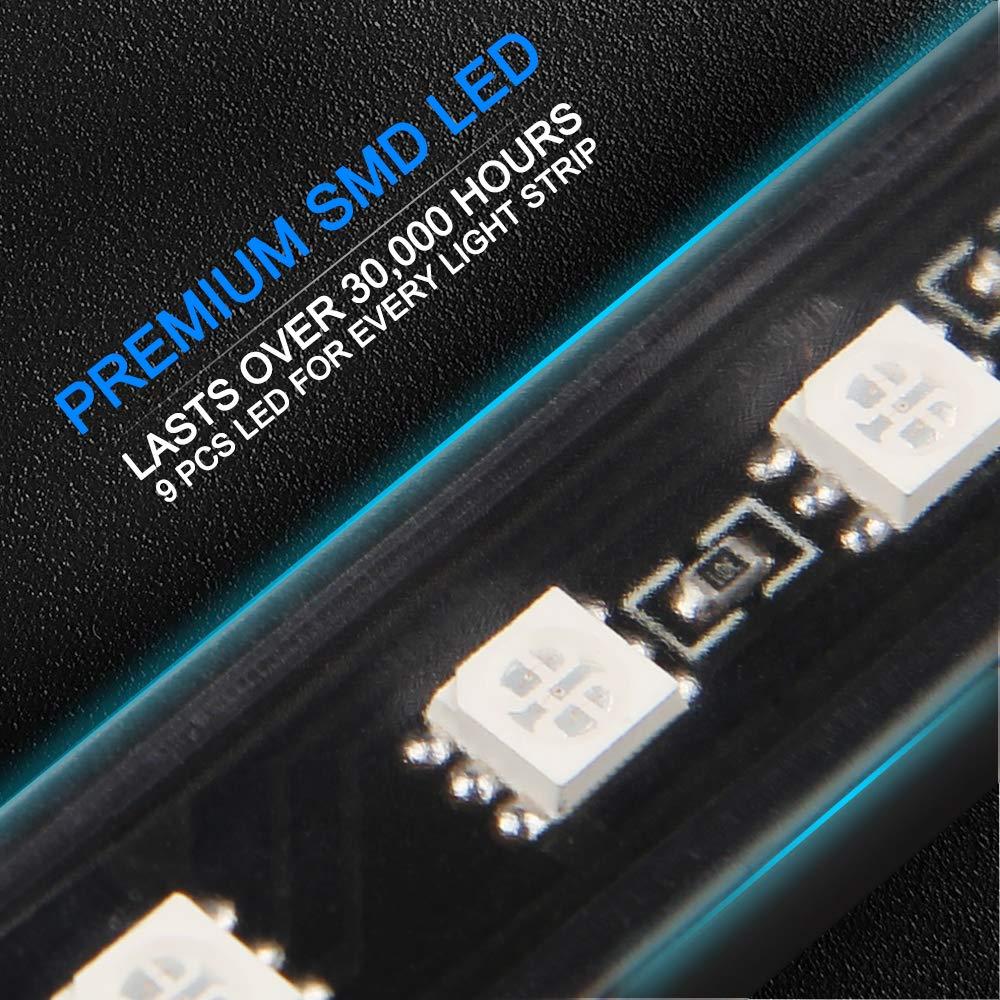 Startway Lampadina H4 LED 10400LM Kit Sostituzione per Alogena Lampade e Xenon Luci Fari Auto Abbaglianti e Anabbaglianti Faro per 12V-24V 6000K Bianco 2 Lampadine