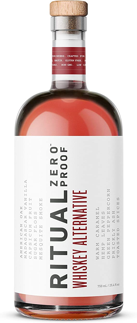 RITUAL ZERO PROOF Whiskey Alternative | A Non-Alcoholic Spirit
