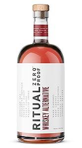 RITUAL ZERO PROOF Whiskey Alternative | An Award-Winning Non-Alcoholic Spirit | 25.4 Fl Oz