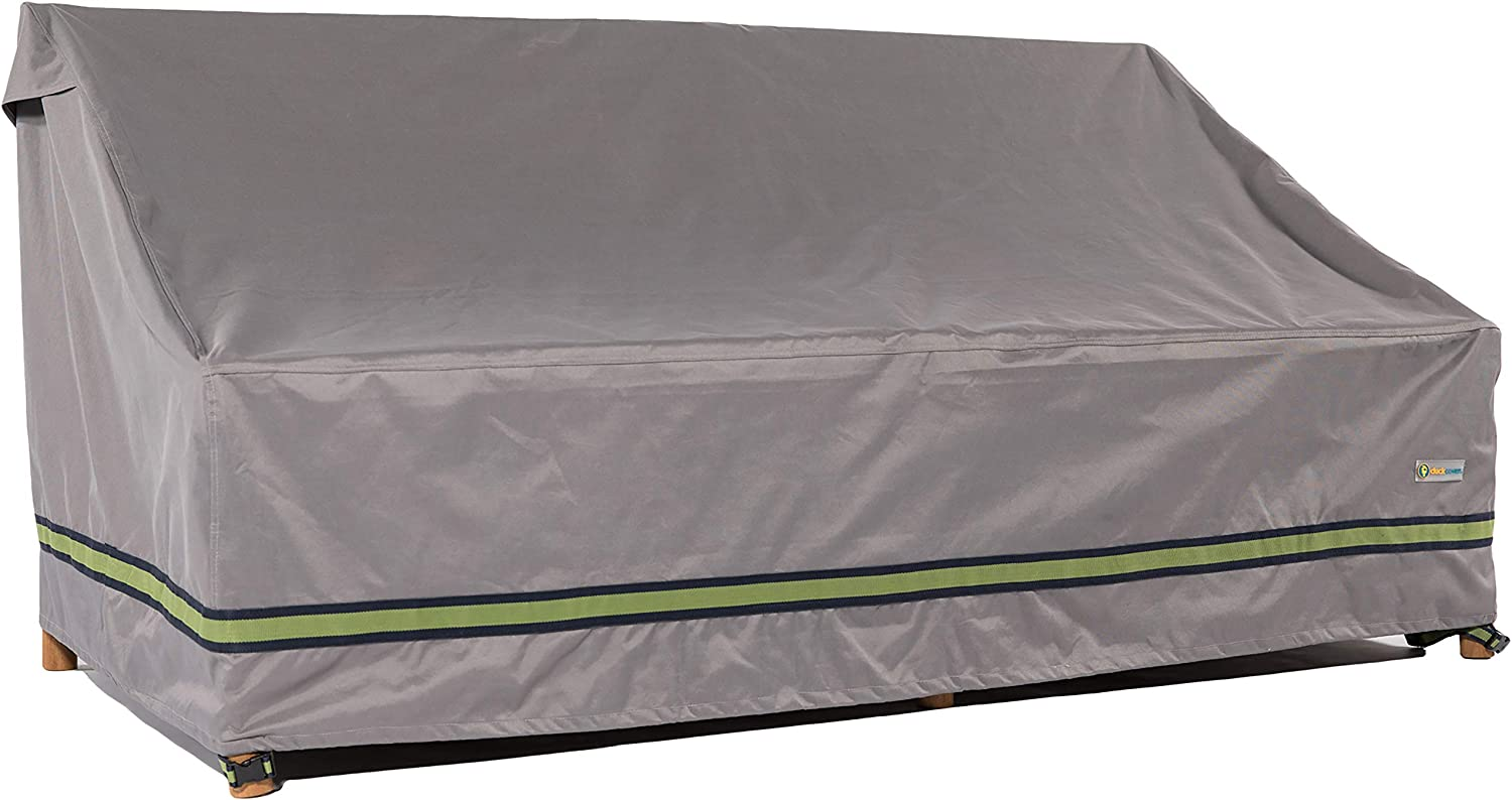 Duck Covers Soteria Water-Resistant 104 Inch Patio Sofa Cover
