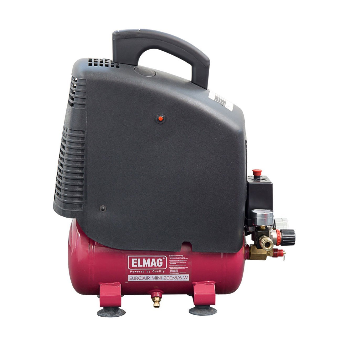 Kompressor SET Elmag EUROAIR MINI 200//8//6 W