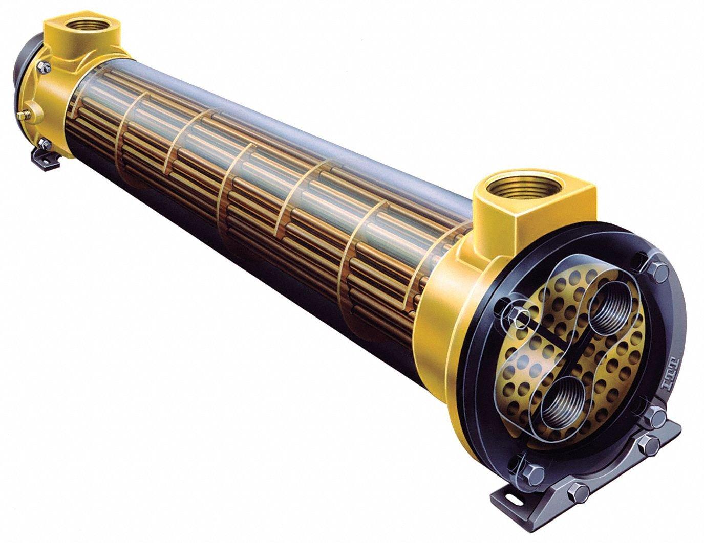 Heat Exchanger,Shell And Tube,525K BTU