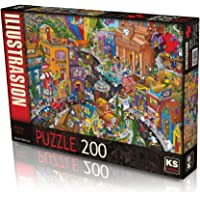 Ks Games World In A Hurry 200 Parça Puzzle
