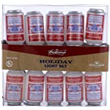 Budweiser Kurt Adler UL 10-Light Vintage Can Light Set