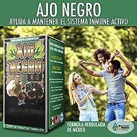 AJO Negro Suplemento, Aged Black Garlic Supplement 60 Capsules Bottle