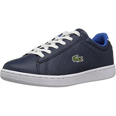 22da6a41d432 Lacoste Carnaby Evo 417 1 Navy Synthetic 3 M US Little Kid