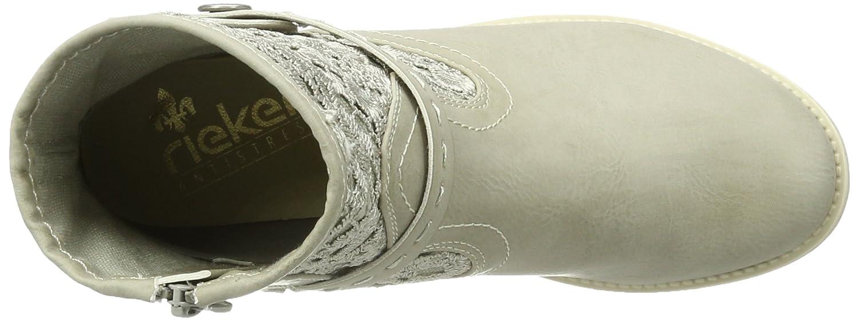 Rieker Damen 96678 Kurzschaft Stiefel  Amazon.de  Schuhe   Handtaschen 1c6e8e6688