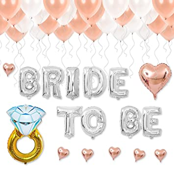 Amazon Com Bridal Shower Wedding Decorations Bride To Be Letter