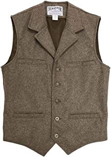 product image for McCOY WOOL VEST outerwear COLOR - TAUPE SIZE - XLT