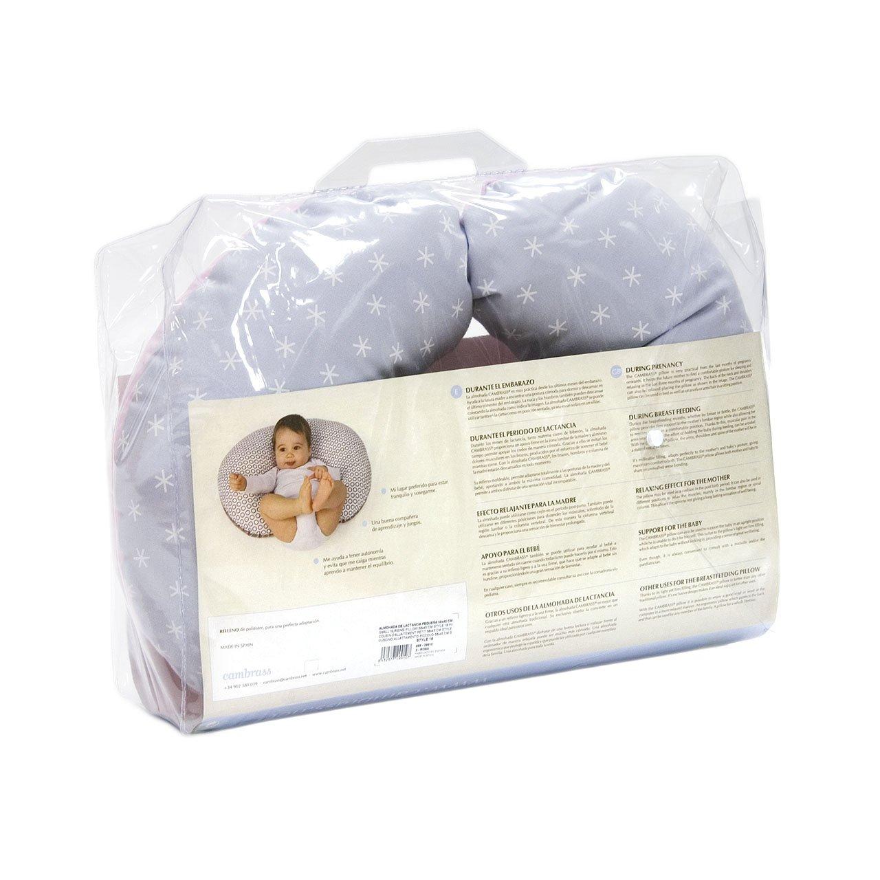 Cambrass Almohada De Lactancia - Cojín de lactancia, color ...