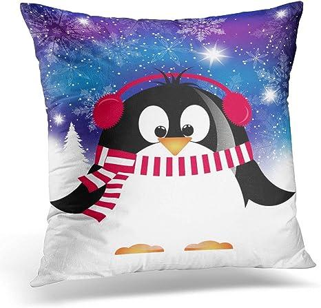 Penguin Pillow Cover