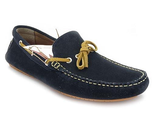 OSVALDO PERICOLI Mocasines Para Hombre Azul Size: 45 EU: Amazon.es: Zapatos y complementos