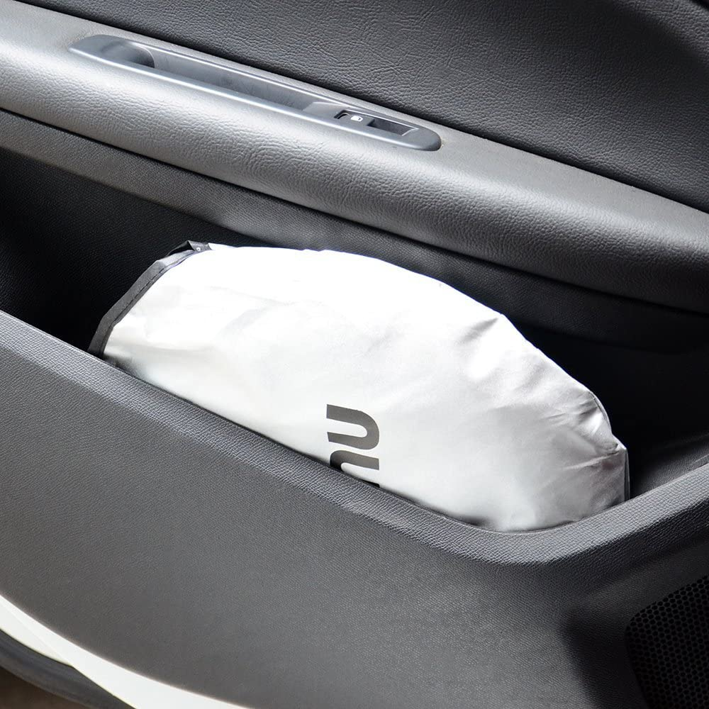 H.Yue Auto Car Sun Shade Windshield Cover Visor Protector Sunshades Awning Shade 65.7x36.4 Inches