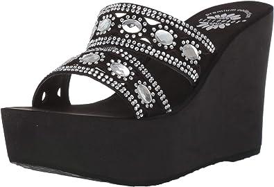 Yellow Box Women's P-Leya Wedge Sandal