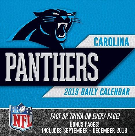 wholesale dealer 05551 77bfd Turner Licensing Carolina Panthers 2019 Box Calendar (19998051432)