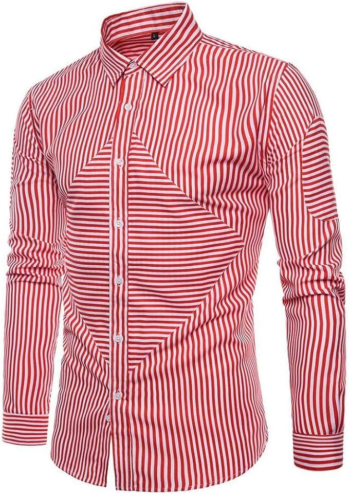 Camisas Casual Hombre Manga Larga, Covermason Camisa Oxford ...