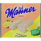 Manner Lemon Wafers75 g (Pack of 12)